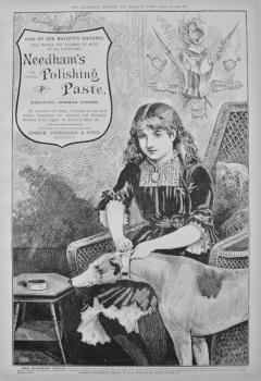 Needham's Polishing Paste. 1886.