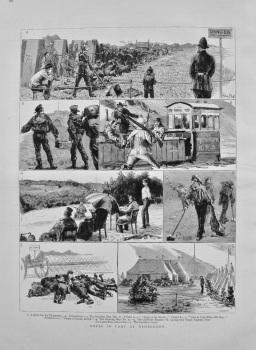 Notes in Camp at Wimbledon. 1882
