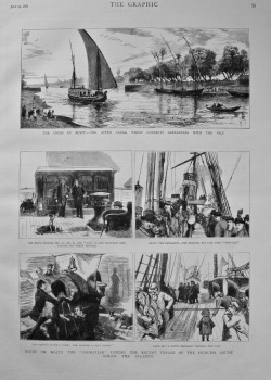 """Notes on Board the """"Sarmatian"""" During the Recent Voyage of the Princess Louise Across the Atlantic. 1882"""