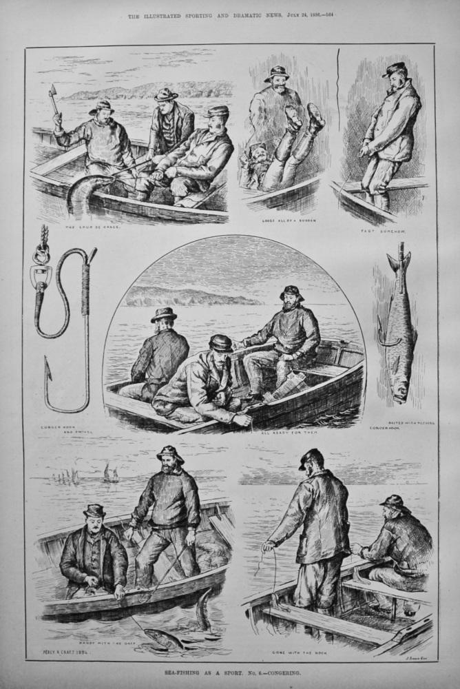 Sea-Fishing as a Sport. No. 6.- Congering.