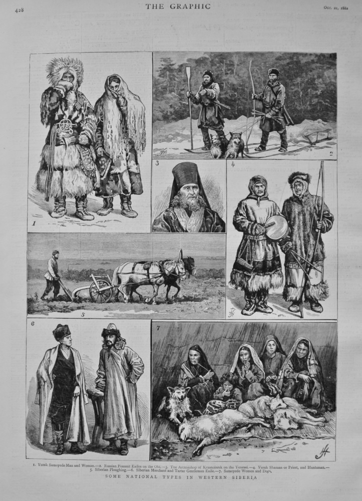 Some National Types in Western Siberia. 1882.