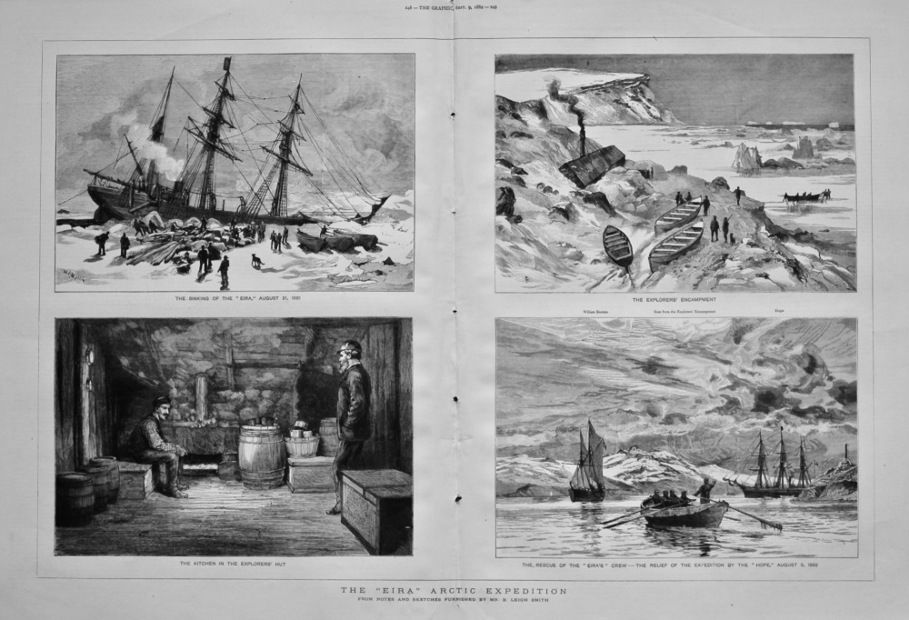 """The """"Eira"""" Arctic Expedition. 1882"""