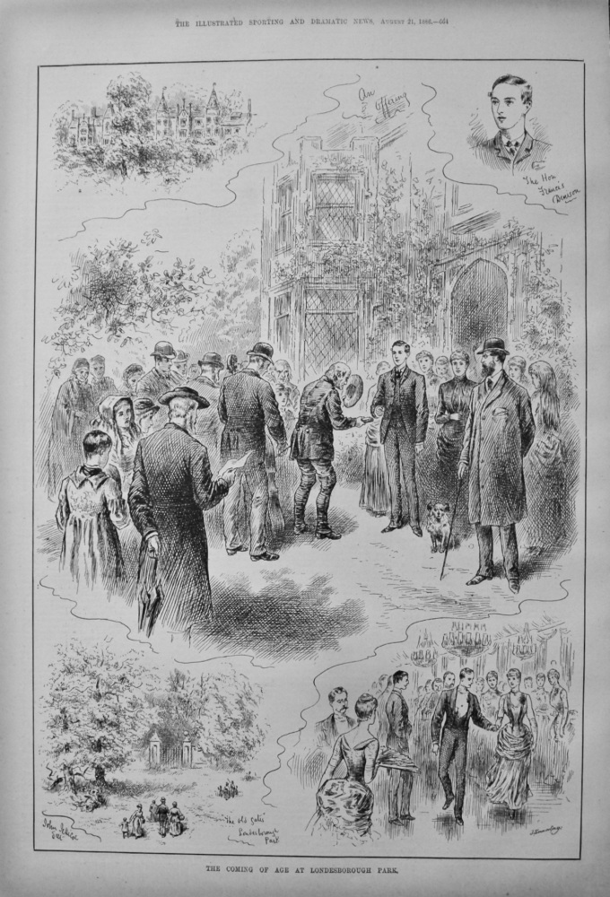 The Coming of Age at Londesborough Park. 1886