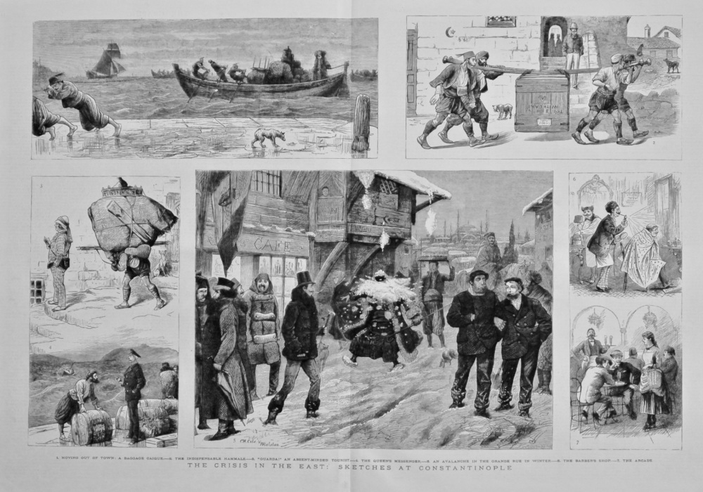 The Crisis in the East : Sketches at Constantinople. 1882