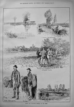 Trout and Grayling Fishing on the Test. 1886