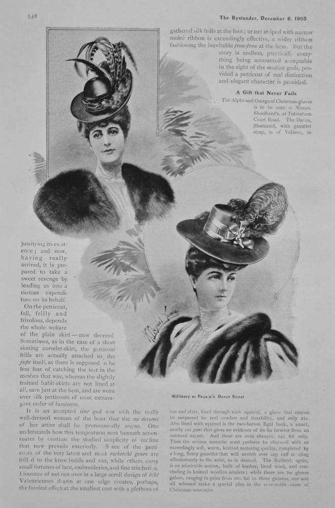 Frocks, Frills, and Furbelows. 1905.