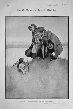 Cupid Makes a Slight Mistake. 1905.