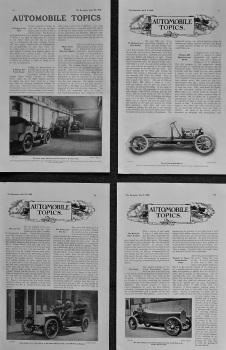 Automobile Topics. 1905.