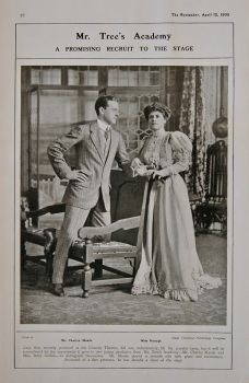 Mr Tree's Academy : A Recruit to the Stage. (Mr. Charles Maude & Miss Darragh.) 1905
