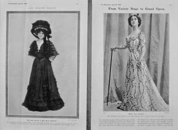 Mddle. Lina Cavalieri. & Miss Marie Studholme. 1905