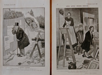 A Political Allegory. & Life's Little Ironies-Indoors. 1905
