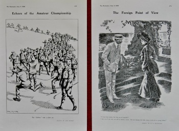 Echoes of the Amateur Championship. & The Foreign Point of View. 1905.