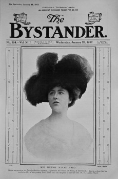 Miss Eugenie Dudley Ward. (Front Page)