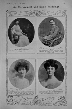 An Engagement and Some Weddings. 1907.