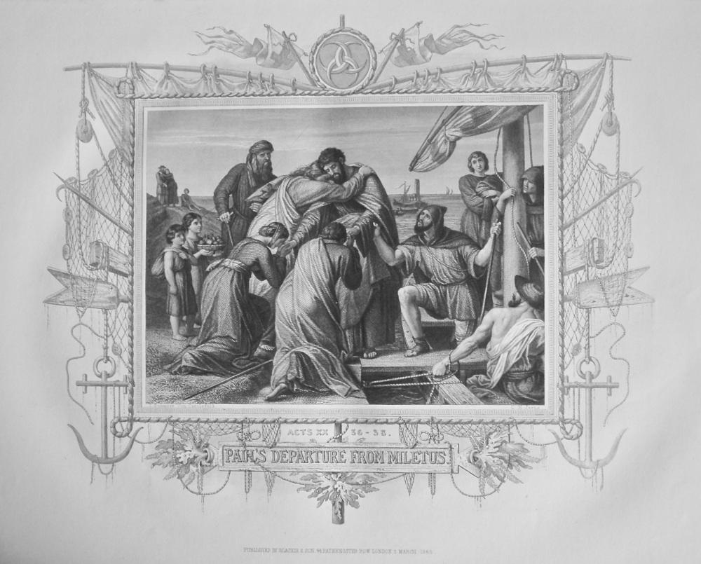 Paul's Departure from Miletus. 1871.