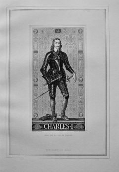 Charles 1. From the Picture by Vandyke.