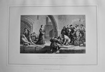 Cranmer at Traitor's Gate.