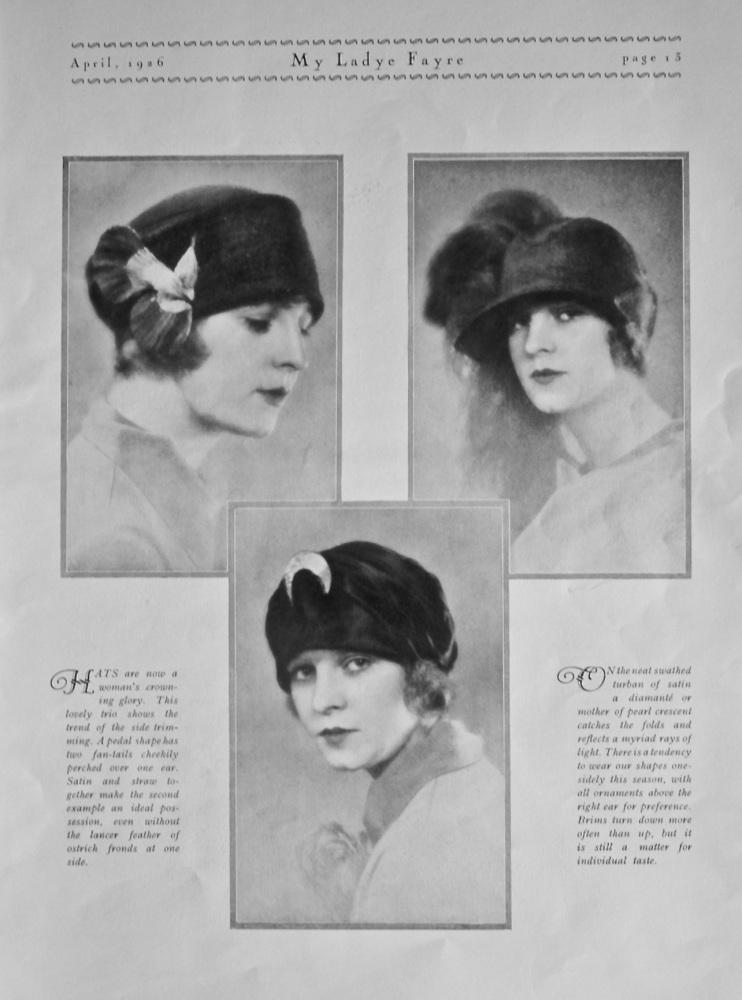 Hats. 1926