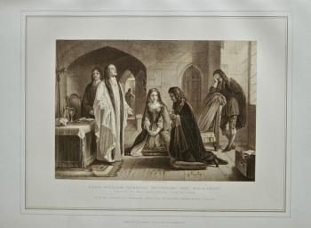 Lord William Russell Receiving the Sacrament, prior to His Execution July 21st. 1683.