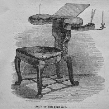 Chair of the Poet Gay. 1849.