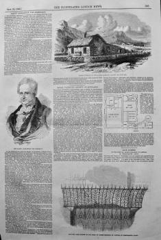 Baron Alexander Von Humboldt. 1849.