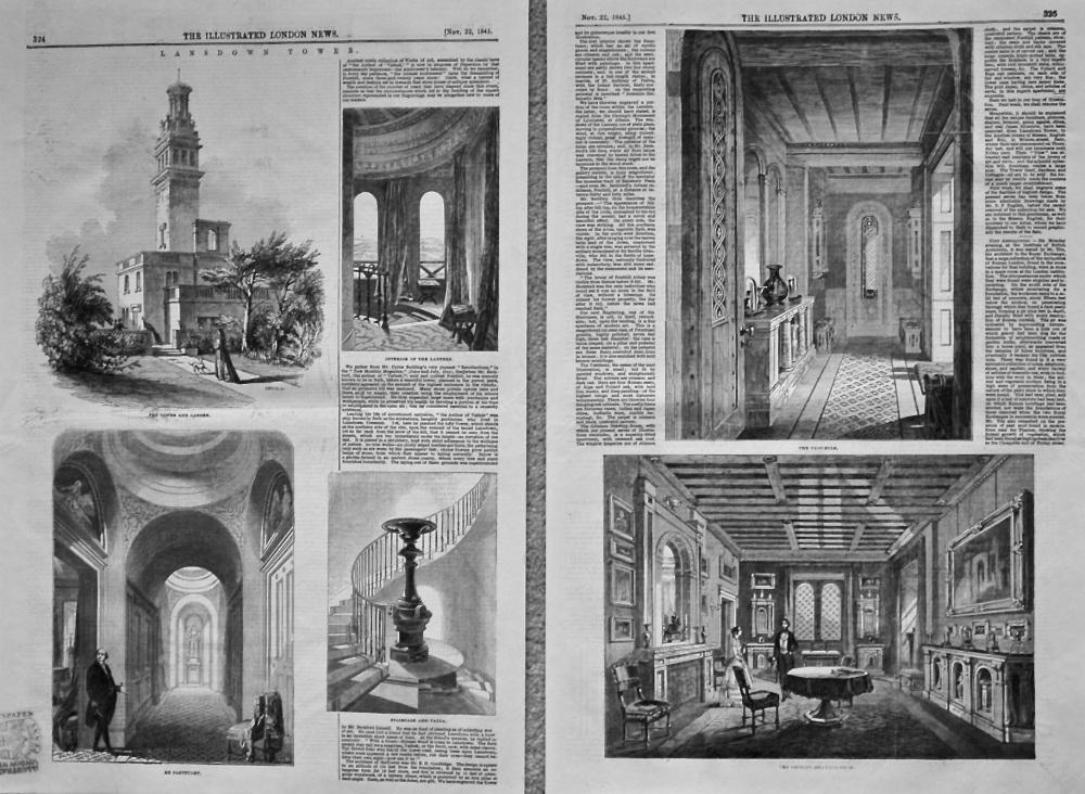 Lansdown Tower. 1845.