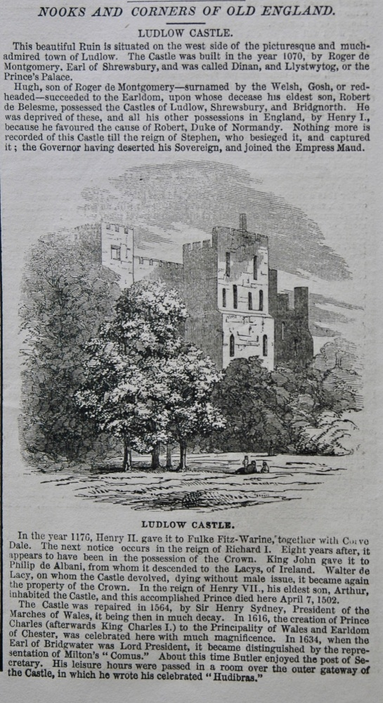 Nooks and Corners of Old England. - Ludlow Castle.