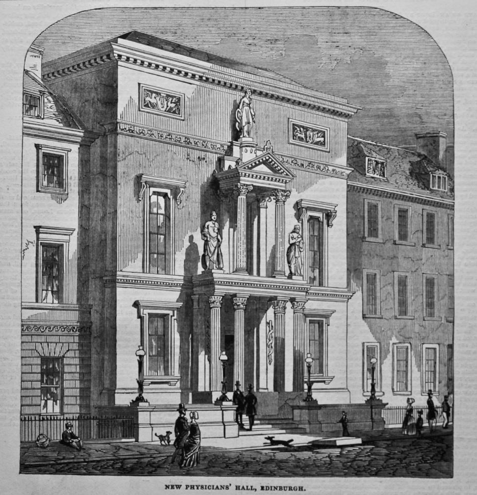 New Physicians' Hall, Edinburgh. 1845.