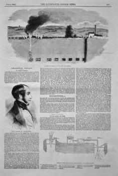 A Coal-Mine on Fire. 1849.