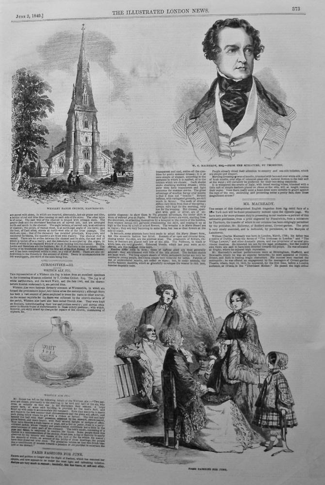 Curiosities- III. Whitsun Ale Jug. 1849.