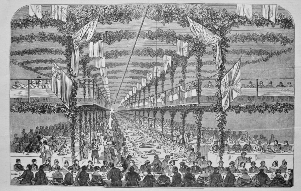 Festival at Messrs. Ransome's and May's, at Ipswich. 1849.