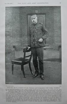 Lieut.-Gen. Sir C. J. East, K.C.B., Governor and Commandant, R.M. College, Sandhurst. 1897.
