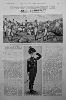 The Glories and Traditions of the British Army : The Rifle Brigade. By Lieut. Col. Percy Groves, R.G.A. 1898.