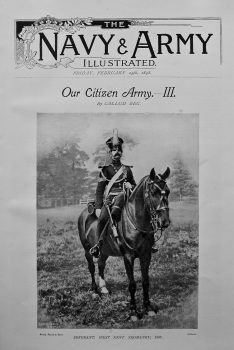 Our Citizen Army.- III.  February 25th, 1898.