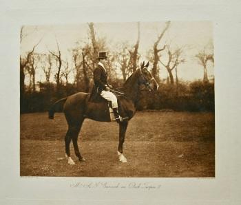 Mr. A.J. Curnick on Dick Turpin III. 1908.