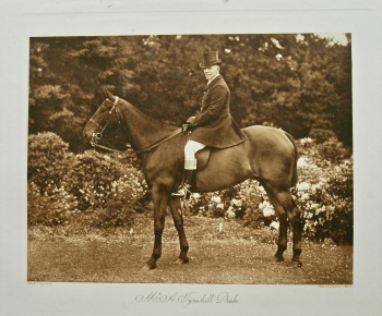 Mr. A. Tyrwhitt Drake. (On Horseback). 1908.