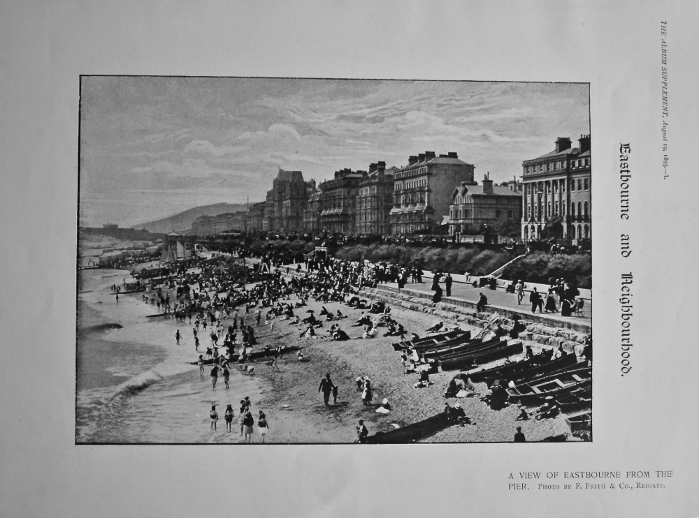 Eastbourne and Neighbourhood. 1895.