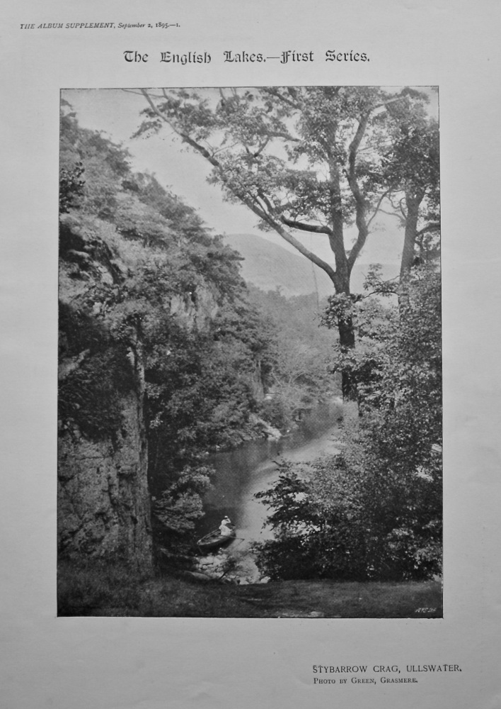 The English Lakes.- First Series. 1895.