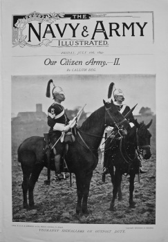 Navy & Army Illustrated : Our Citizen Army.- II.  July 16th, 1897.