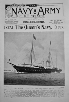 Navy & Army Illustrated : The Queen's Navy. 1837. to 1897.