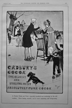 Cadbury's Cocoa. 1900.