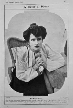 Miss Muriel Wylford. 1905.