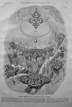 Choice Ornaments from the Parisian Diamond Company. 1900.