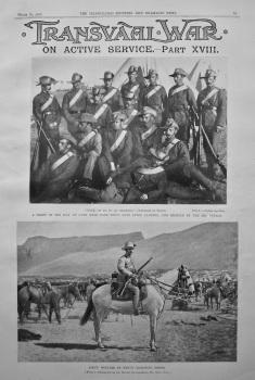 Transvaal War : On Active Service.- Part XVIII.