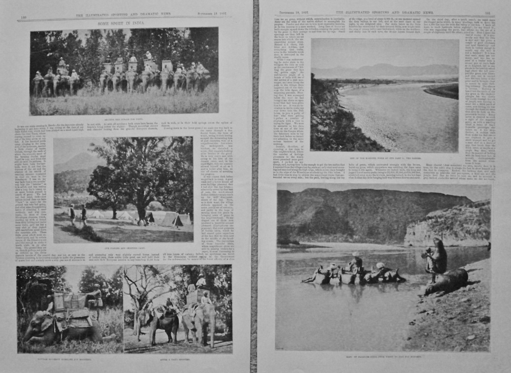 Some Sport in India. 1897.