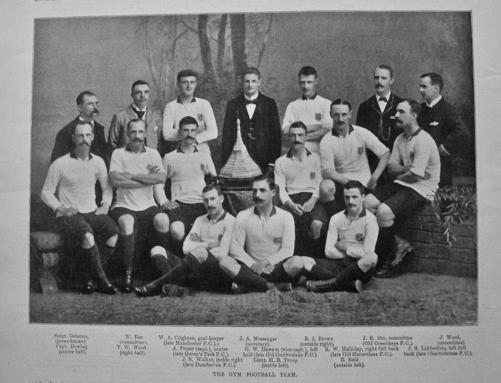 The Gym Football Team. 1897.