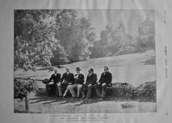 Mr. Gladstone and Colonial Premiers. 1897.