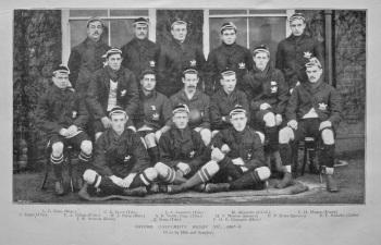 Oxford University Rugby XV., 1897-8.