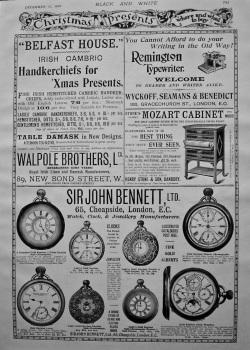 Christmas Presents. 1897.