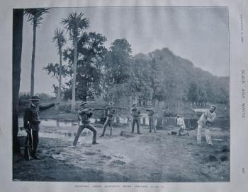 Shooting Down Suspects Near Havana. 1897.